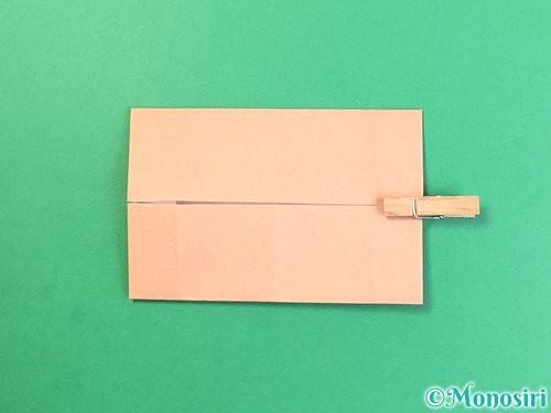 折り紙でお月見団子の折り方手順40