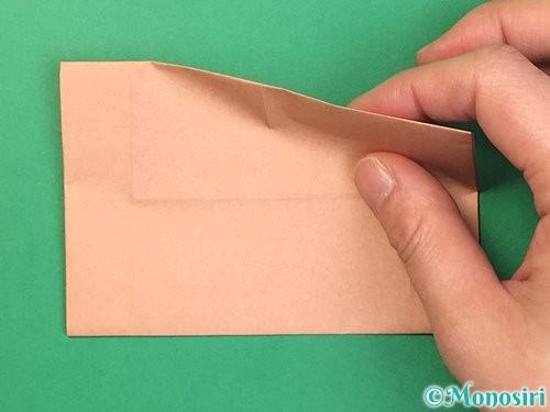 折り紙でお月見団子の折り方手順43