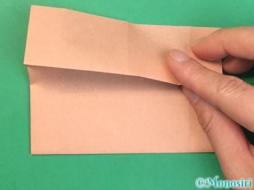 折り紙でお月見団子の折り方手順44
