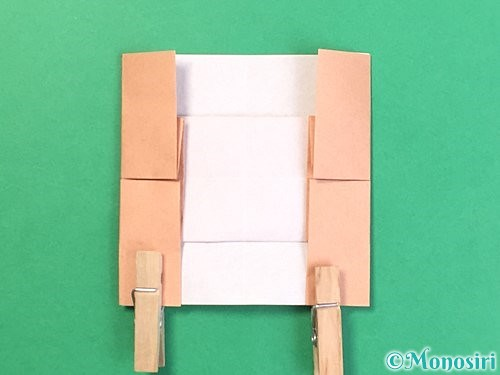 折り紙でお月見団子の折り方手順49
