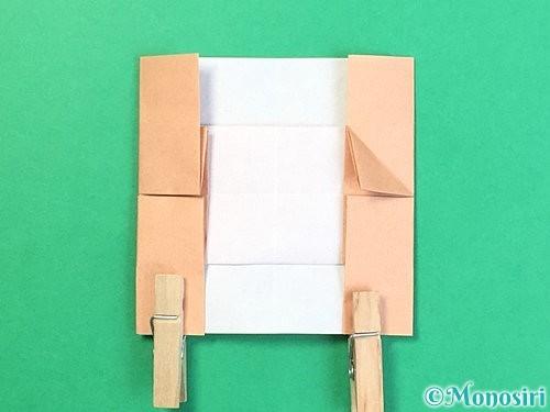 折り紙でお月見団子の折り方手順51