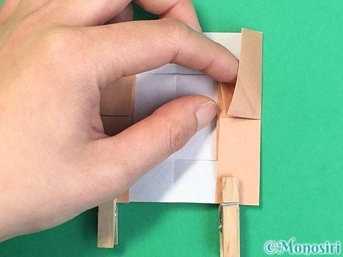 折り紙でお月見団子の折り方手順52