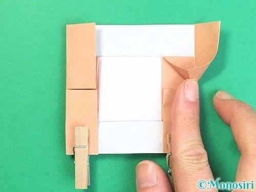 折り紙でお月見団子の折り方手順53