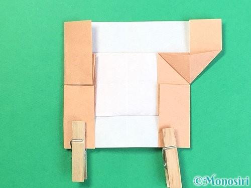 折り紙でお月見団子の折り方手順54