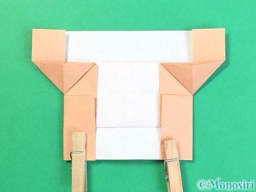 折り紙でお月見団子の折り方手順55