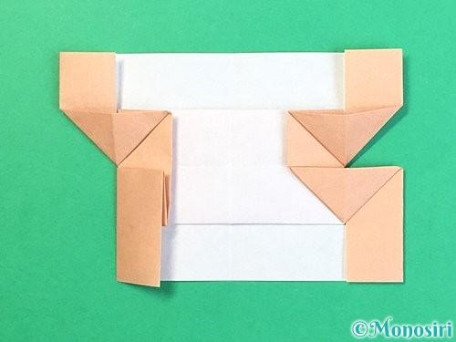 折り紙でお月見団子の折り方手順59