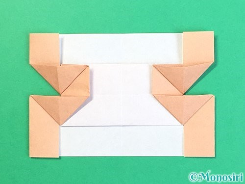 折り紙でお月見団子の折り方手順61
