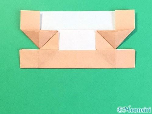 折り紙でお月見団子の折り方手順63