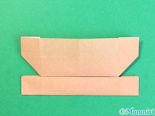 折り紙でお月見団子の折り方手順64