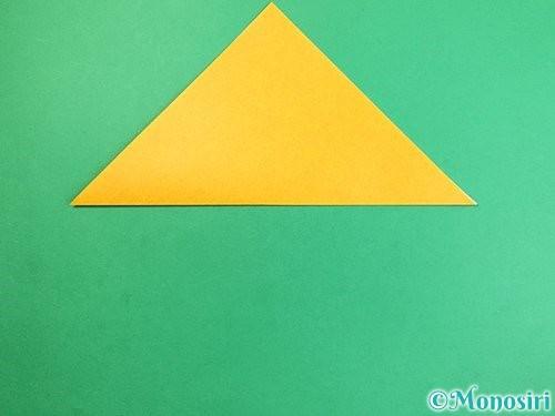 折り紙で花瓶の折り方手順2