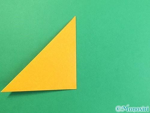 折り紙で花瓶の折り方手順4