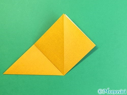 折り紙で花瓶の折り方手順7