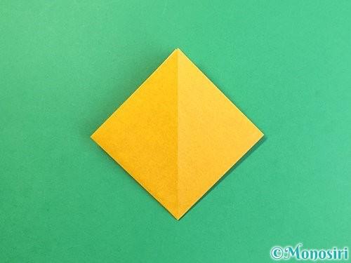 折り紙で花瓶の折り方手順9