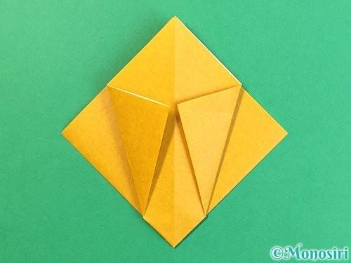 折り紙で花瓶の折り方手順11