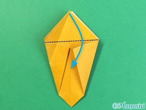 折り紙で花瓶の折り方手順15