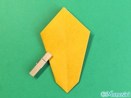 折り紙で花瓶の折り方手順18
