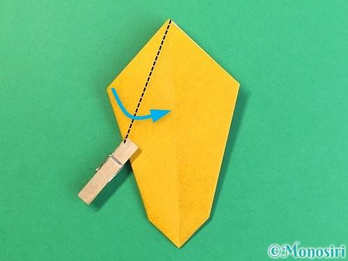 折り紙で花瓶の折り方手順19