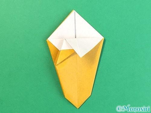 折り紙で花瓶の折り方手順22