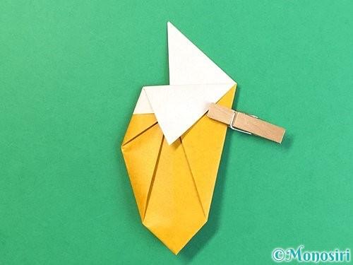 折り紙で花瓶の折り方手順23