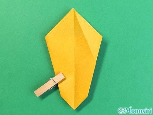 折り紙で花瓶の折り方手順25
