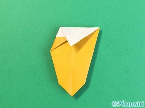 折り紙で花瓶の折り方手順26