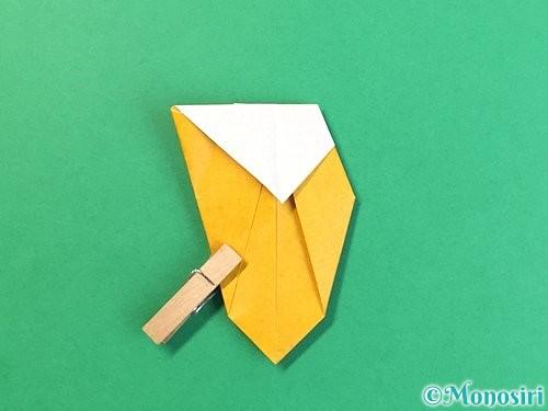 折り紙で花瓶の折り方手順28