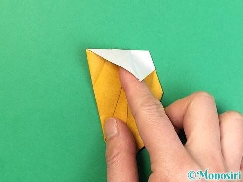 折り紙で花瓶の折り方手順29