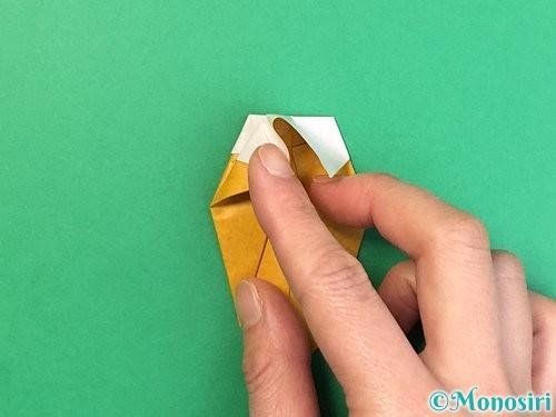 折り紙で花瓶の折り方手順31