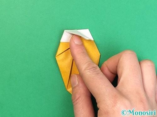 折り紙で花瓶の折り方手順32