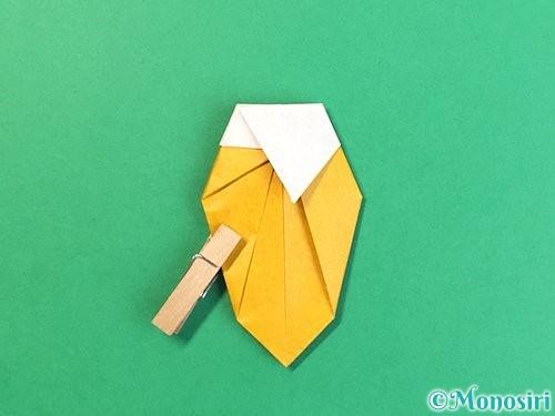 折り紙で花瓶の折り方手順33