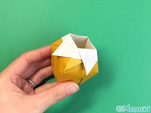折り紙で花瓶の折り方手順36