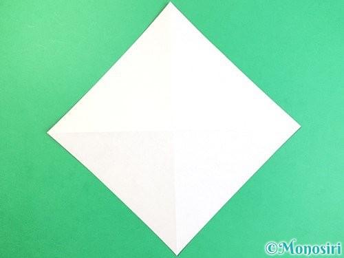 折り紙でコオロギの折り方手順3