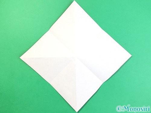 折り紙でコオロギの折り方手順5