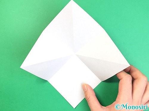 折り紙でコオロギの折り方手順6
