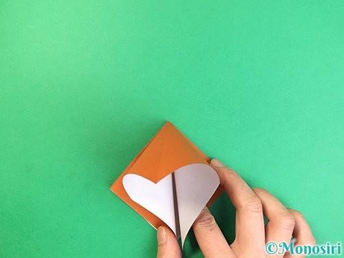 折り紙でコオロギの折り方手順7