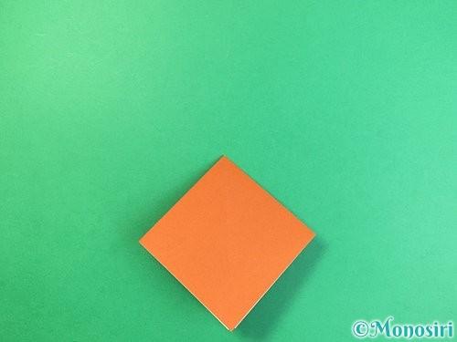 折り紙でコオロギの折り方手順8