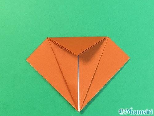 折り紙でコオロギの折り方手順12
