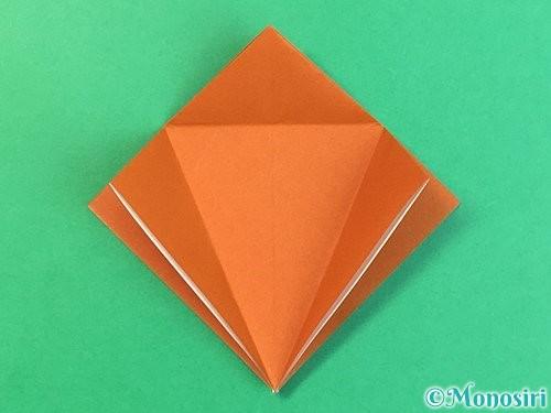 折り紙でコオロギの折り方手順13