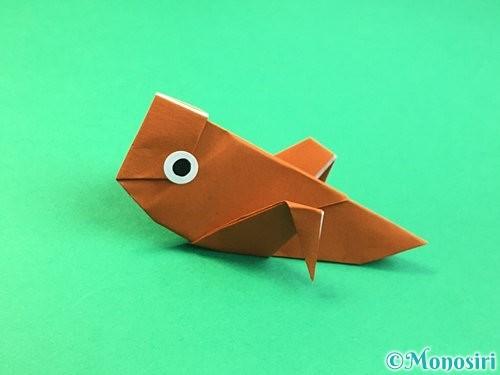 折り紙でコオロギの折り方手順46