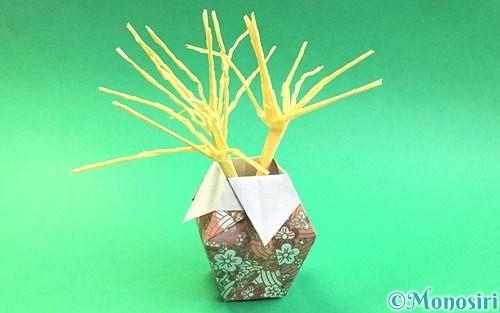 折り紙で作ったススキ