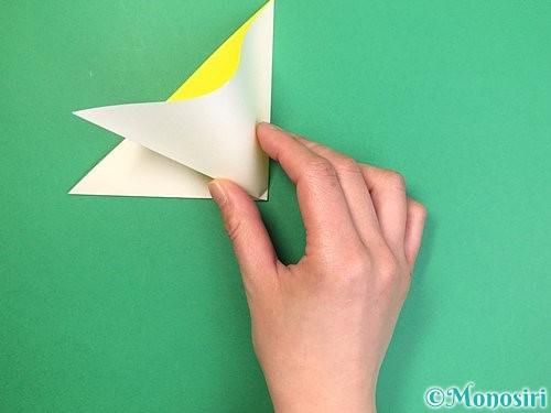 折り紙でたんぽぽの折り方手順5