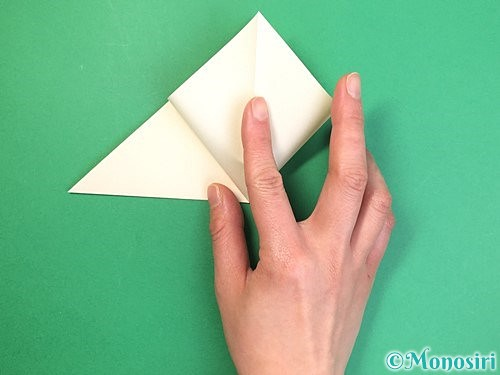 折り紙でたんぽぽの折り方手順6
