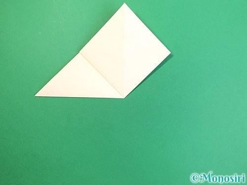 折り紙でたんぽぽの折り方手順7