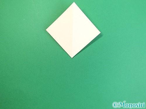 折り紙でたんぽぽの折り方手順8