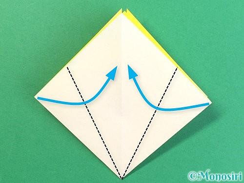 折り紙でたんぽぽの折り方手順9