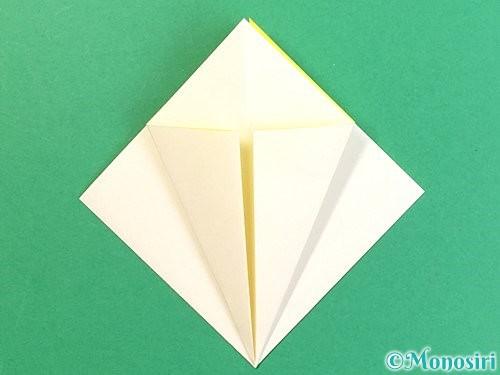 折り紙でたんぽぽの折り方手順10