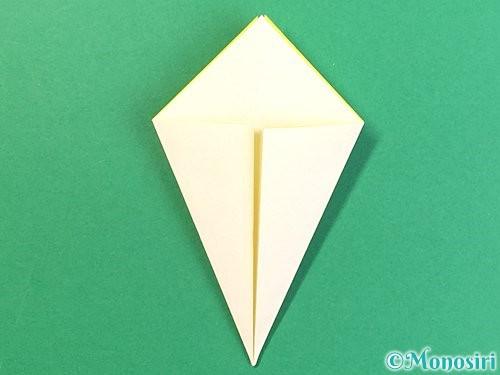 折り紙でたんぽぽの折り方手順11