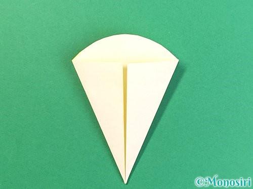 折り紙でたんぽぽの折り方手順12