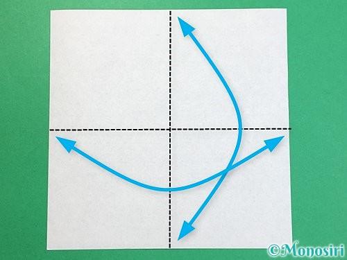 折り紙でパンダの折り方手順23