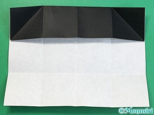 折り紙でパンダの折り方手順32